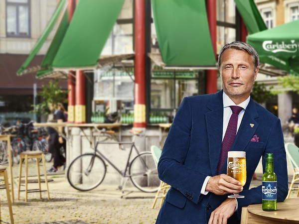 Carlsberg unveils alcohol-free beer ad with actor Mads Mikkelsen