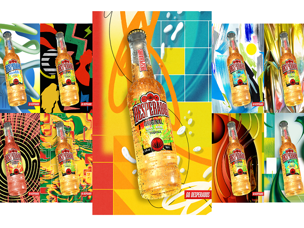 Desperados partners with emerging artists in its latest advertising campaign