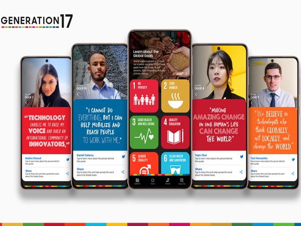 Samsung and UNDP welcome young leaders to Generation 17 initiative on global goals