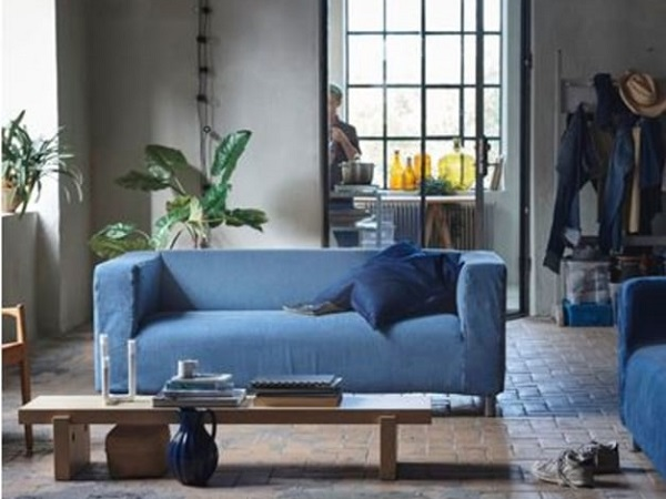 IKEA partners with MUD Jeans to develop sofa covers from recycled jeans